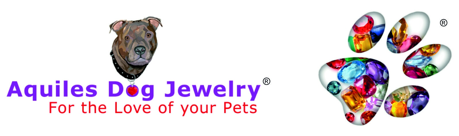 Aquiles Dog Jewelry